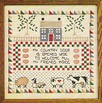 Country  Door  12 x 12