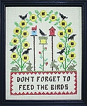 Feed the Birds  10 x 12