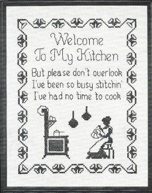 Stitchin' Kitchen 11x14