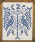 Coverlet Birds 8x10