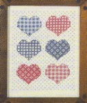 Homespun Hearts  8x10