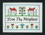 Love Thy  Neighbor  9 x 12